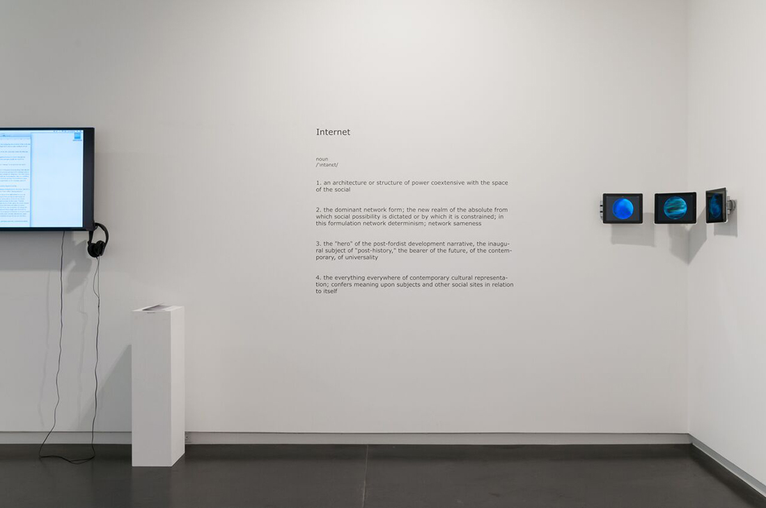 Contra-Internet, Eyebeam in Objects, Upfor Gallery