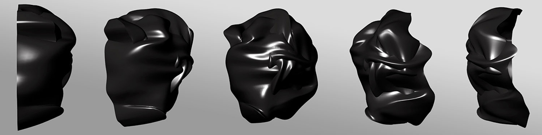 Mask - May 31, 2013, San Diego, CA, 3D render