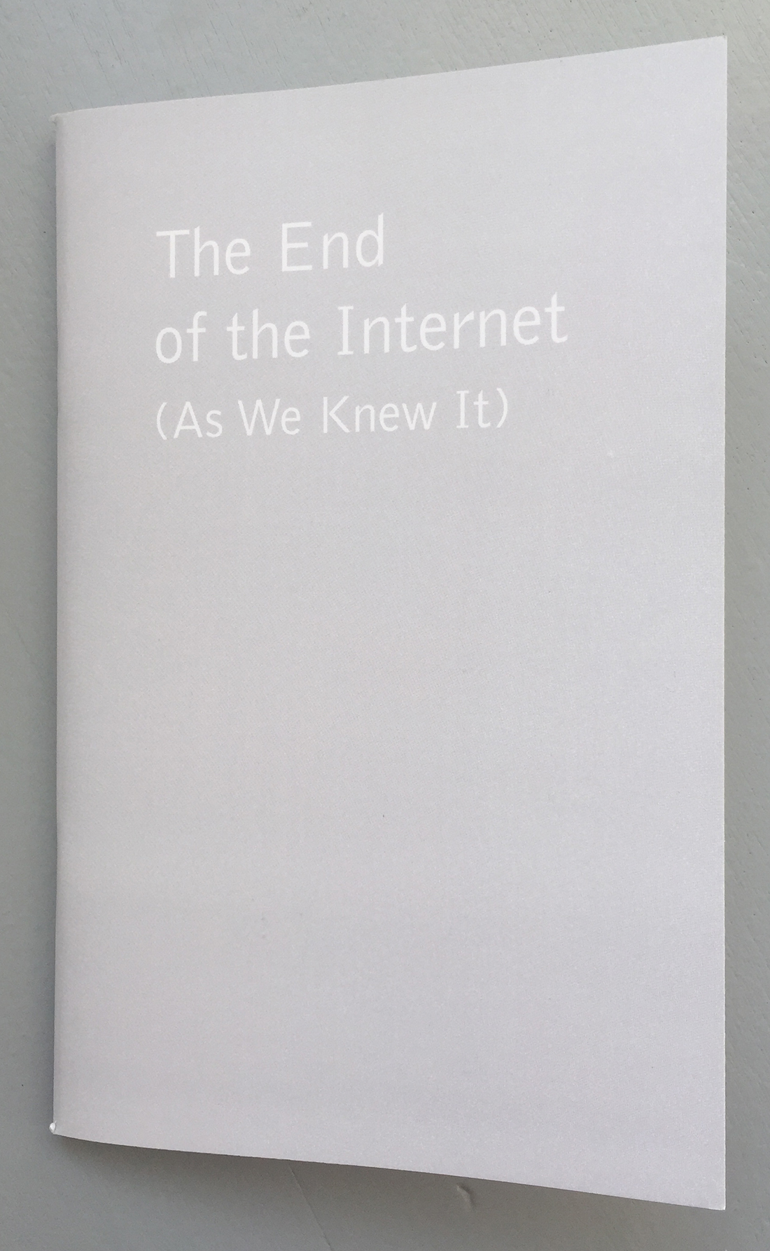 Inversion Practice #1: The End of the Internet (As We Knew It)