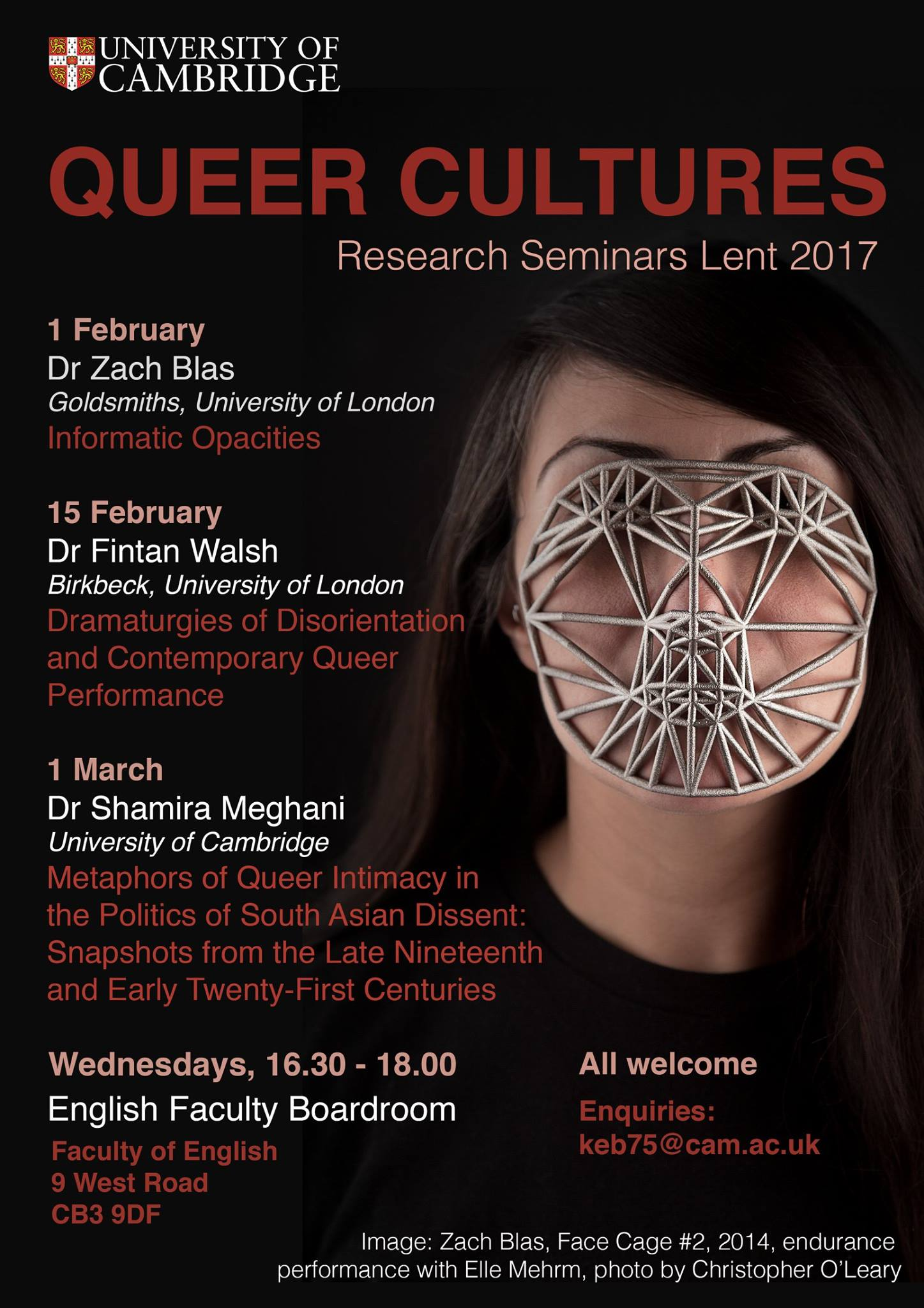 Queer Cultures Research Seminars