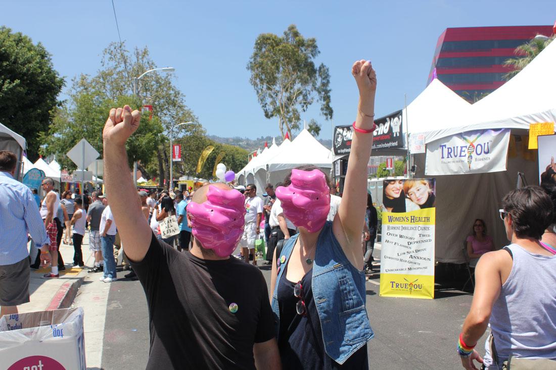 Fag Face Scanning Station, reclaim:pride