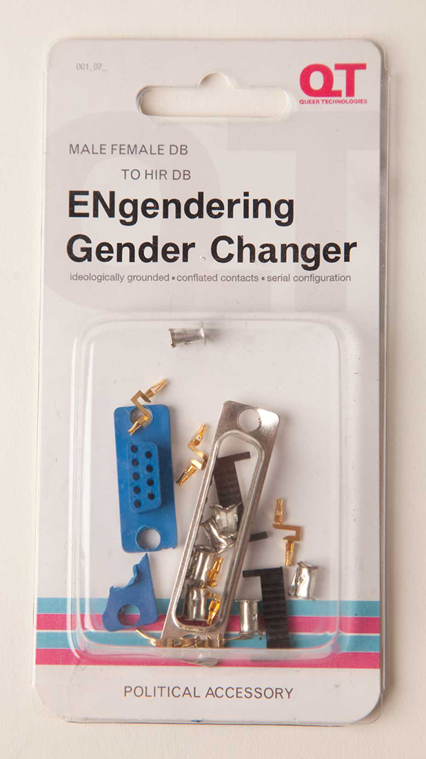 ENgendering Gender Changers, Queer Technologies
