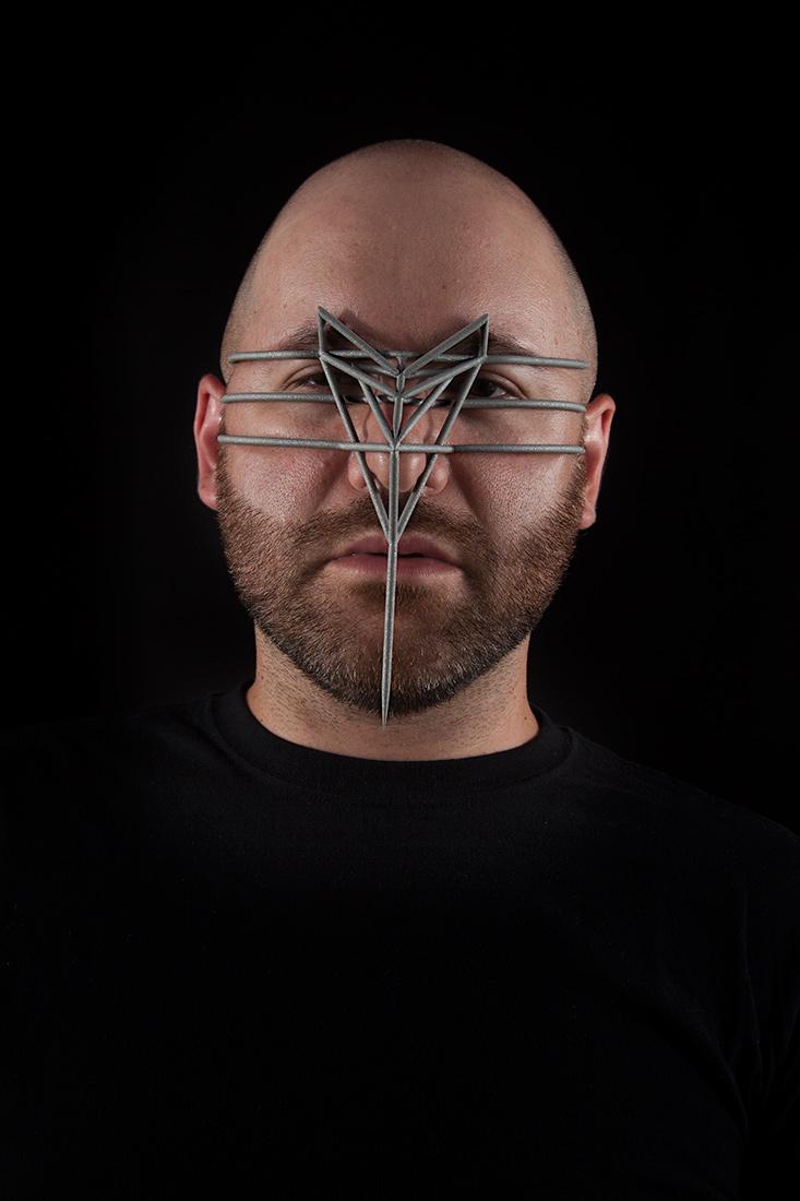 Face Cage 1, Zach Blas