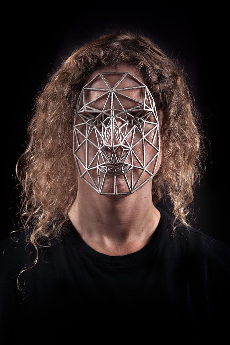 Face Cage 3, micha cárdenas