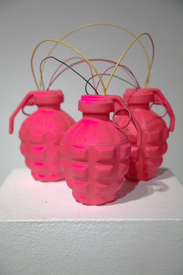 Gay Bombs sculpture, Queer Technologies