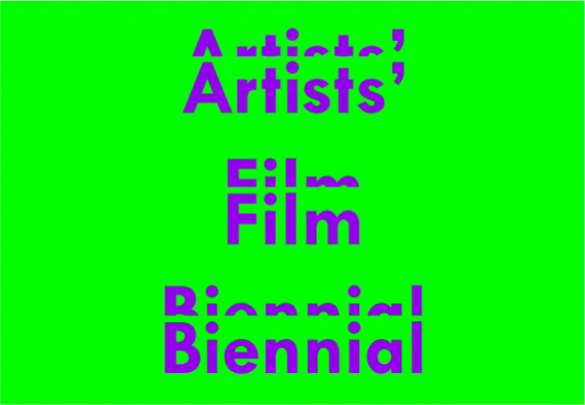 Artists' Film Biennial, ICA London