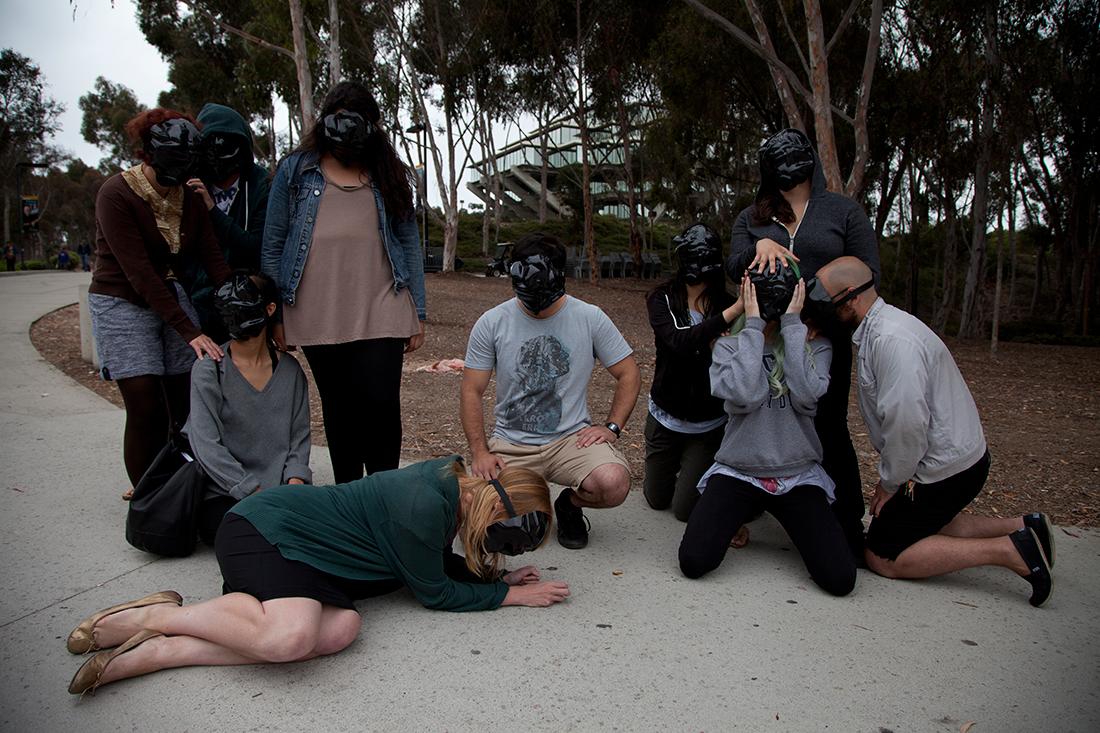 Zach Blas, Facial Weaponization Suite: Militancy, Vulnerability, Obfuscation, UCSD