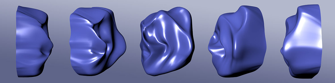 Mask - November 20, 2013, New York, NY, 3D render