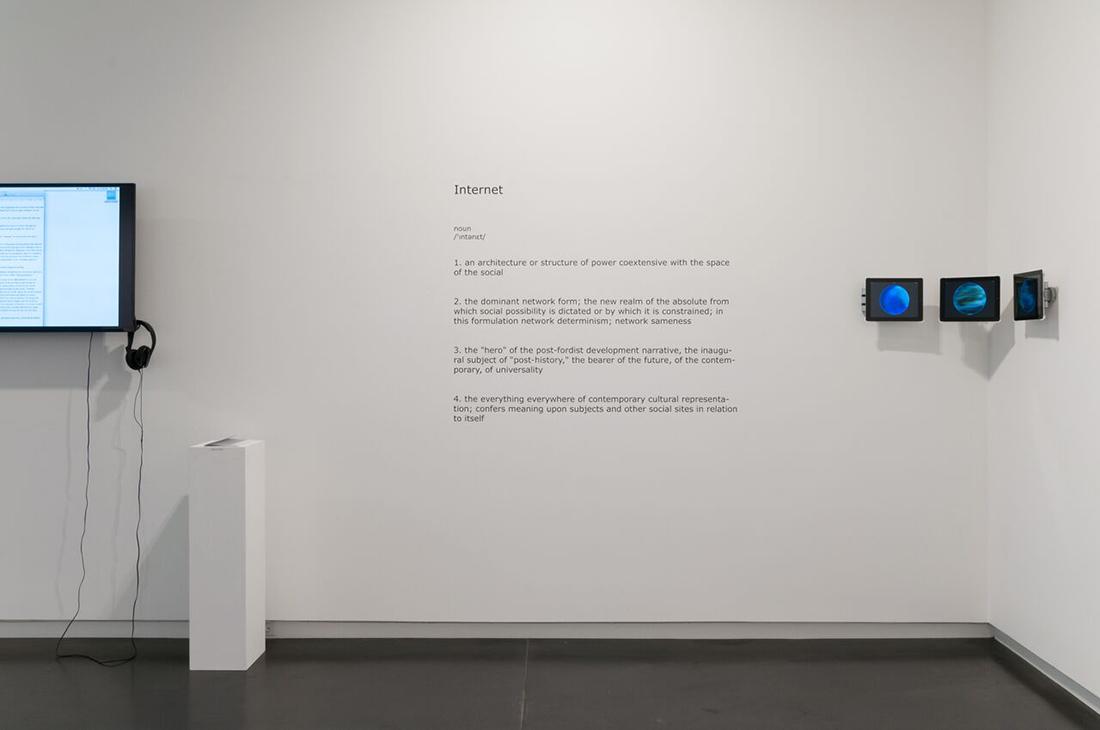 Zach Blas, Contra-Internet, Eyebeam in Objects, Upfor Gallery