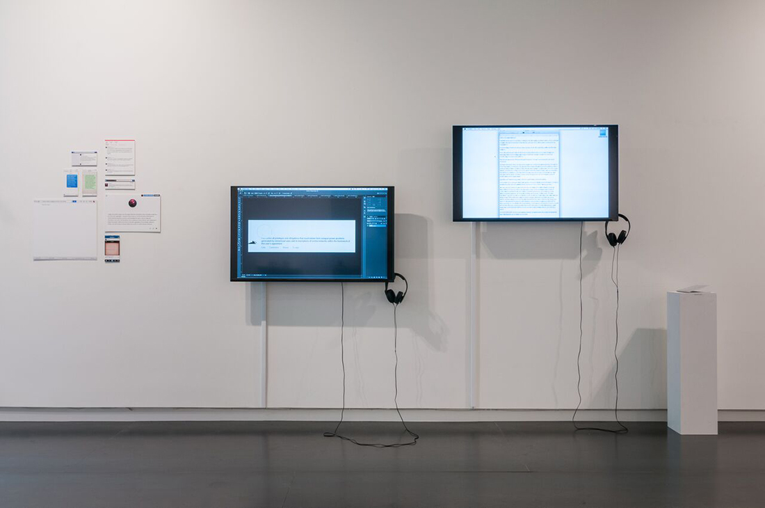 Zach Blas, Contra-Internet, Eyebeam in Objects, Upfor Gallery