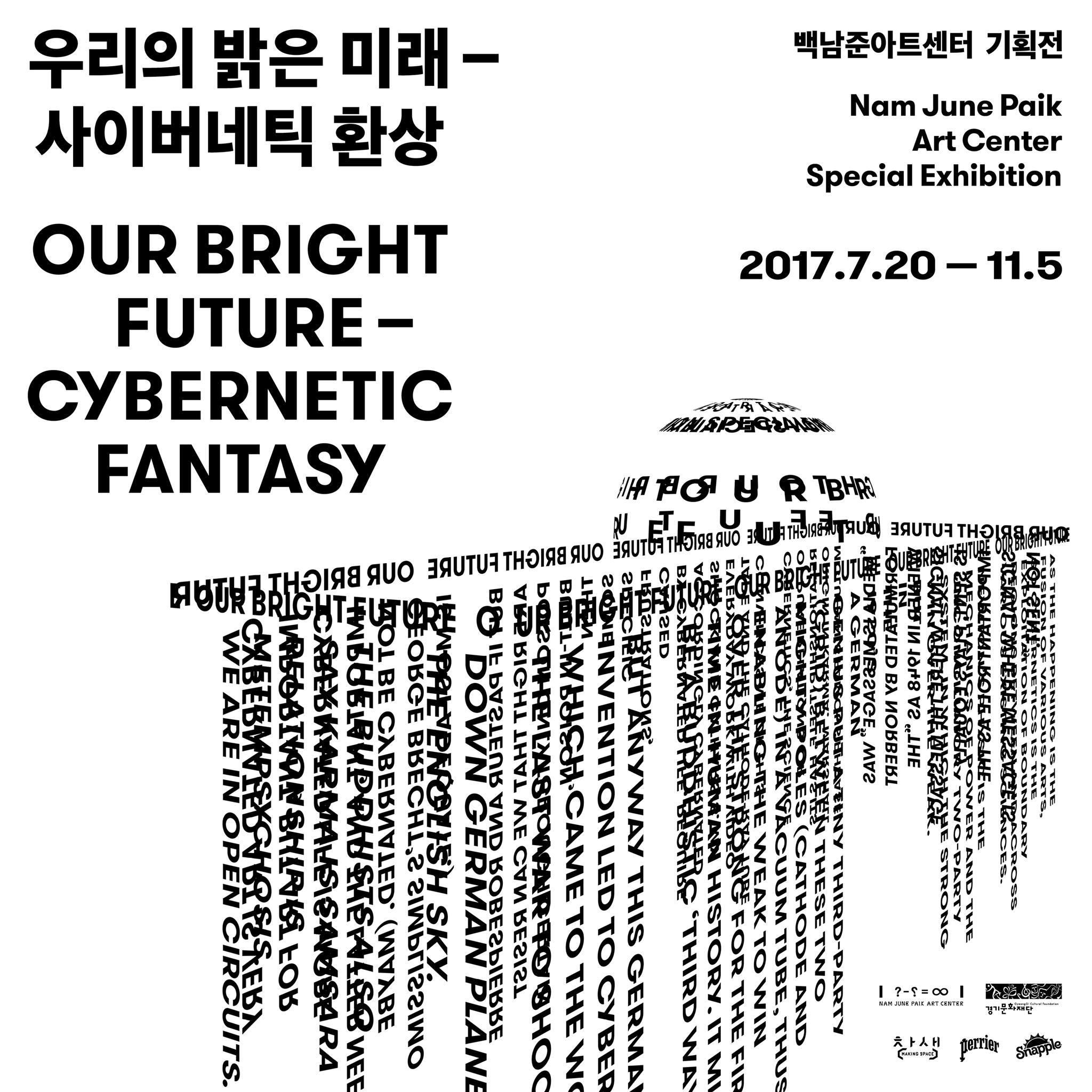 Our Bright Future - Cybernetic Fantasy, Nam June Paik Art Center