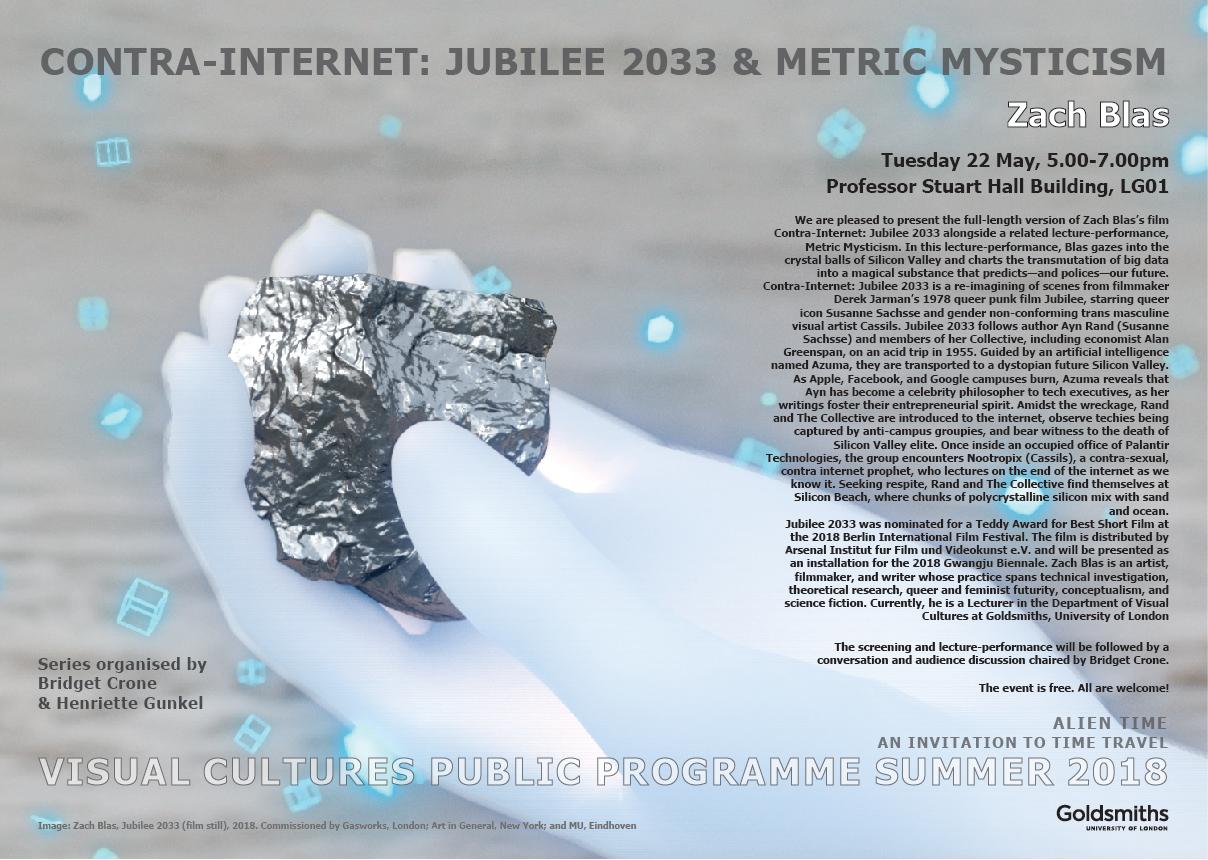 Contra-Internet: Jubilee 2033 & Metric Mysticism